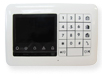 KP-250 PG2, Two-way keypad especially designed to work with the hidden PowerMaster-33 G2 panel