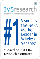 Visonic is the EMEA Market Leader in Wireless Sensors