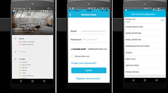 Alarm Install Mobile App | Wireless intrusion alarm systems