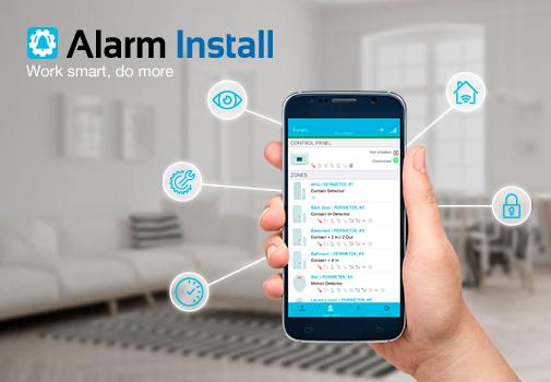 Alarm Install App