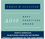 Frost & Sullivan Grants Visonic's PowerMax Solution 2010 Product Leadership Award