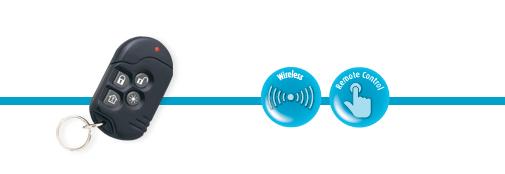 One-way Keyfob MCT-234 | Wireless Property Protections | Visonic