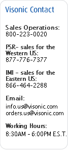 Visonic USA Contacts